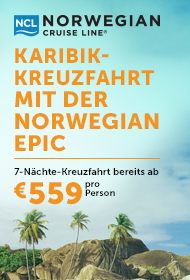 Karibik Kreuzfahrten mit der Norwegian Epic